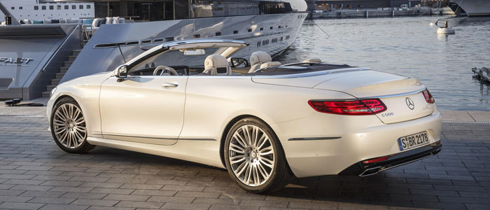 The return of the mercedes benz s class cabriolet ddr surrey for Mercedes benz lease return