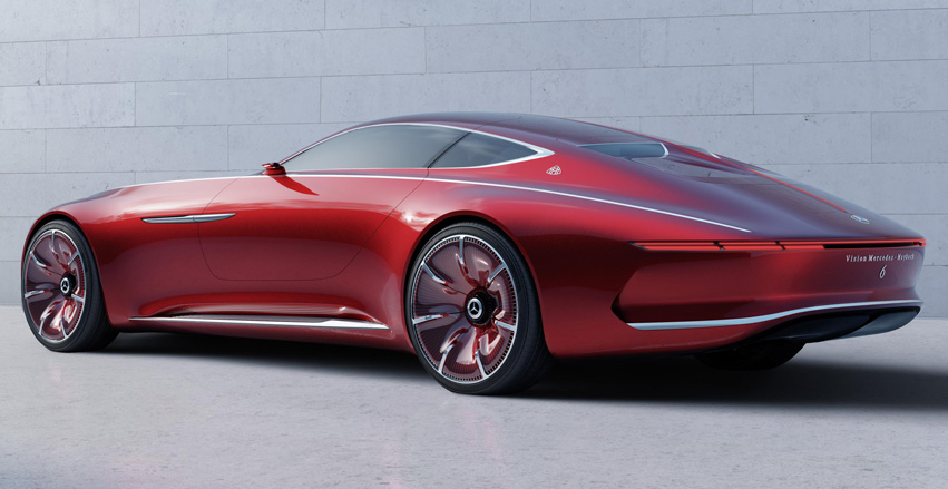 mercedes maybach 6 coupe