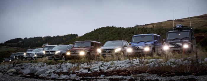 Mercedes Benz Coast to Coast