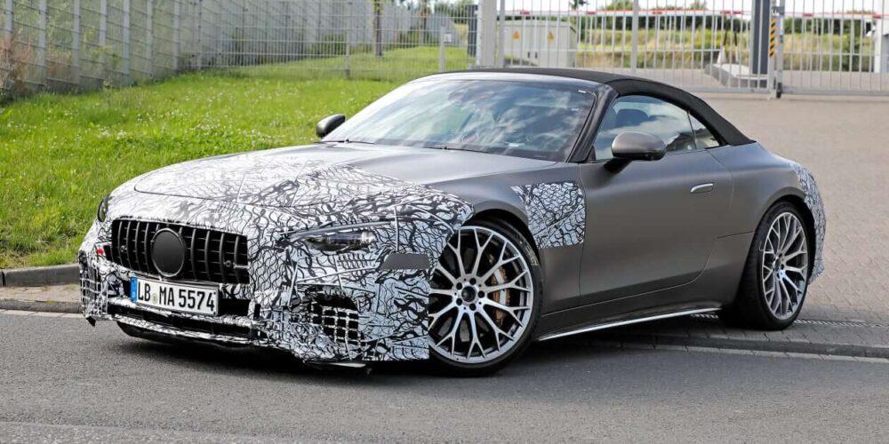 Mercedes-AMG SL Spy Shots